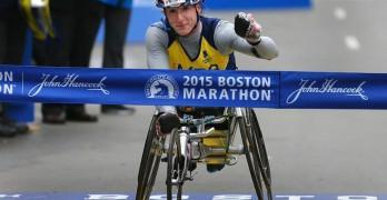 McFadden Threepeats at Boston marathon